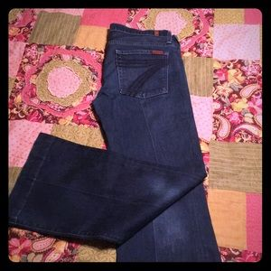 7 For All Mankind Dojo Jeans 32x30
